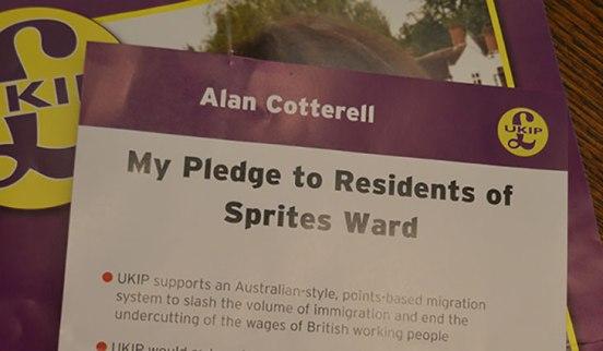 UKIP-leaflets