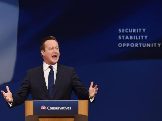 Cameron speech Tory Conference 2015